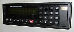 Cab Secure Radio - Stornophone 6000 Cab Secure Radio