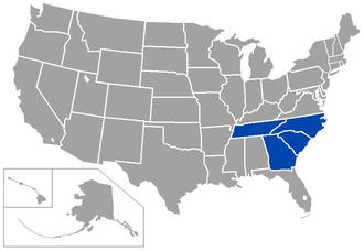 Conference Carolinas - Image: CVA Cstates