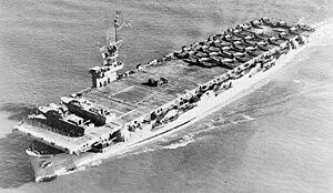 USS Sitkoh Bay - Image: CVE86