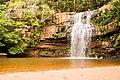 Cachoeira da Usina - Parque Estadual Serra Azul em Barra do Garças-MT 01.jpg