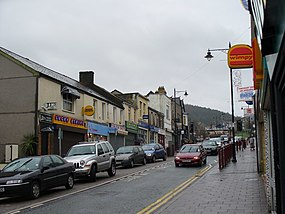 Caerphilly's Main Street - geograph.org.uk - 307586.jpg
