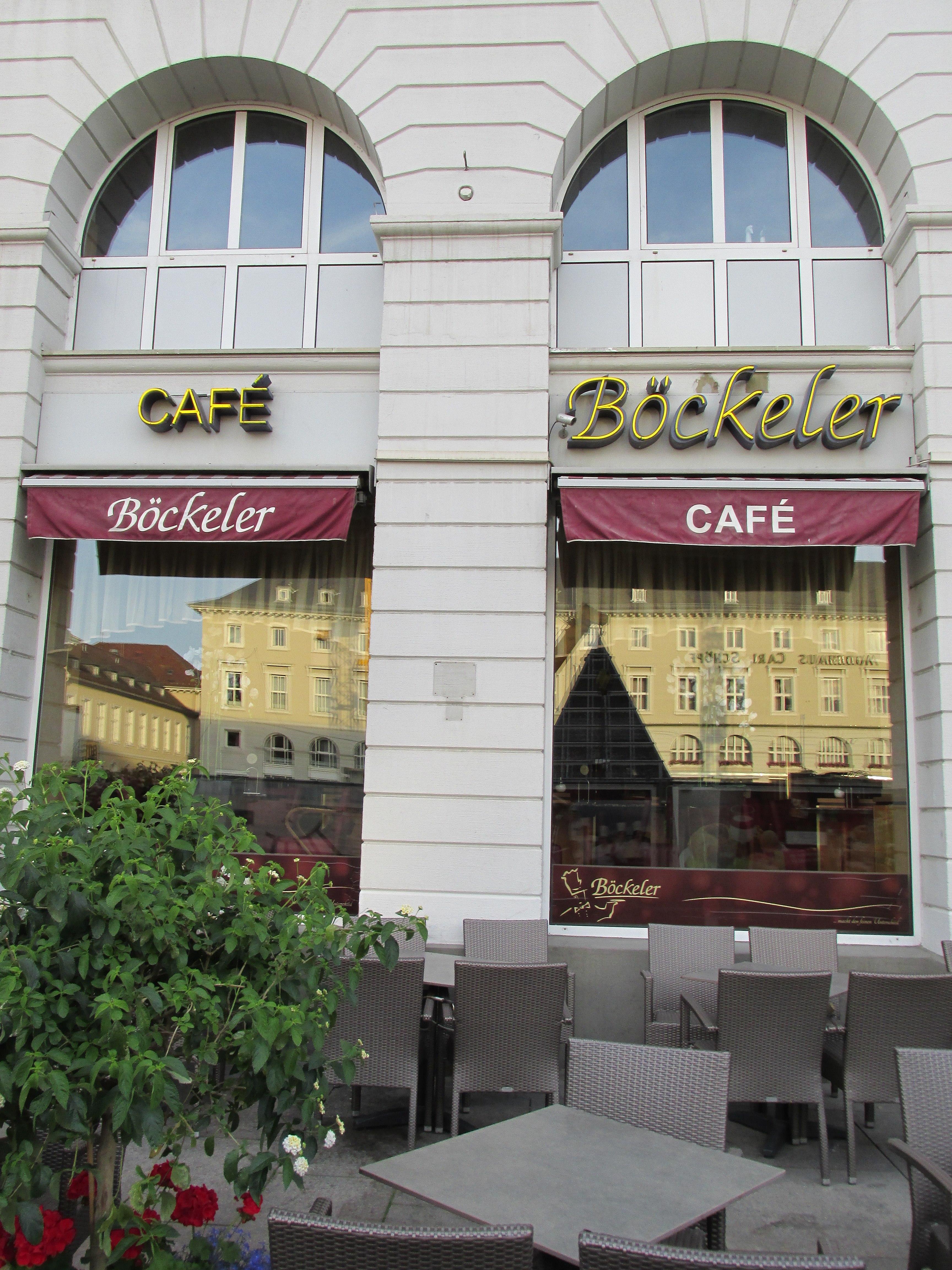 Filecafé Böckeler Am Marktplatz Karlsruhe Panoramiojpg