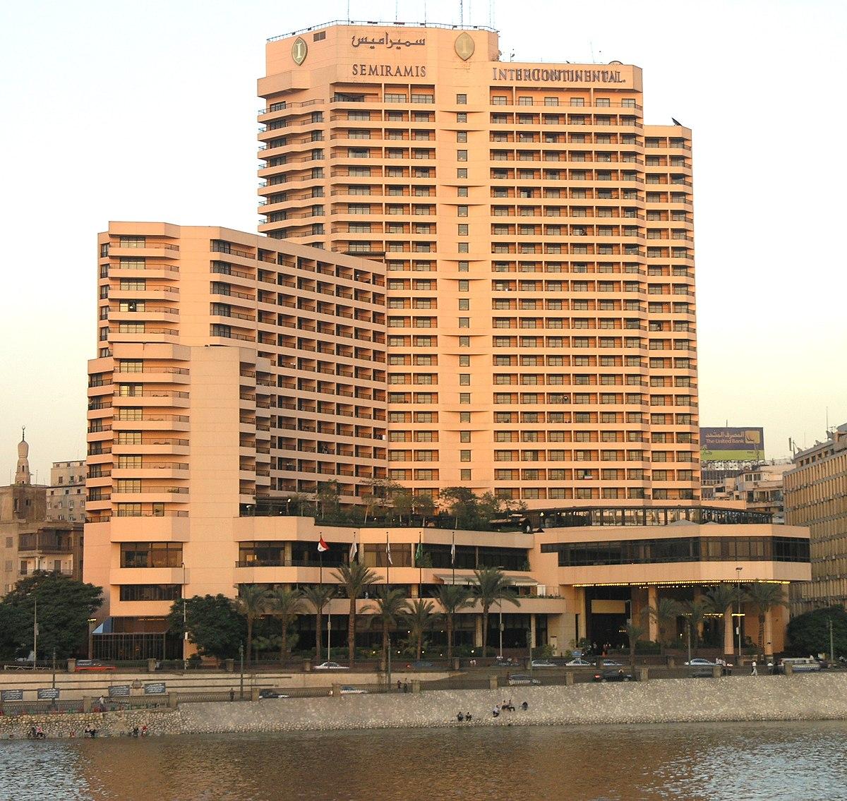 نتيجة بحث الصور عن فندق انتركونتيننتال سميراميس