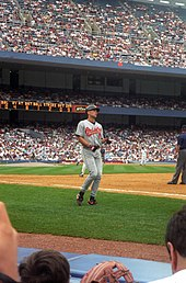 Cal Ripken, Jr. in 1996 at Yankee Stadium