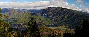 Caldera de Taburiente National Park - Image: Caldera de Taburiente Micha D