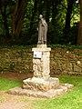 Caldey Island, statue of St. Samson - geograph.org.uk - 2026022.jpg