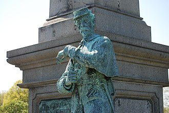 Calvary Cemetery (Queens, New York) - statue of Union soldier