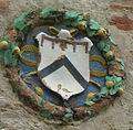 Campiglia marittima, palazzo pretorio, stemma policromo.jpg