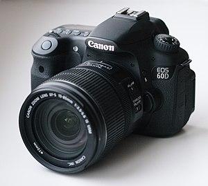 Canon EOS 60D - Image: Canon EOS 60D 01