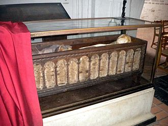 Canute IV of Denmark - King Canute's grave at Odense Cathedral