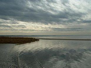 First Encounter Beach along Cape Cod Bay in Eastham