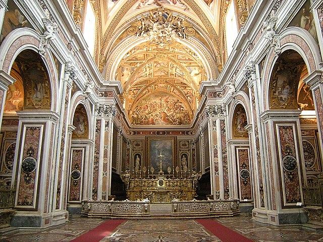 Chapelle de la Chartreuse San Martino à Naples. Photo de Leandro Neumann Ciuffo.