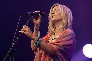 Cara Dillon - Dillon at the Cambridge Folk Festival, 2014