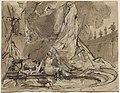 Carl Blechen, David and Bathsheba, 1825-1828, NGA 139202.jpg