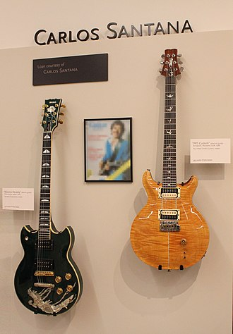 PRS Guitars - Carlos Santana model guitars