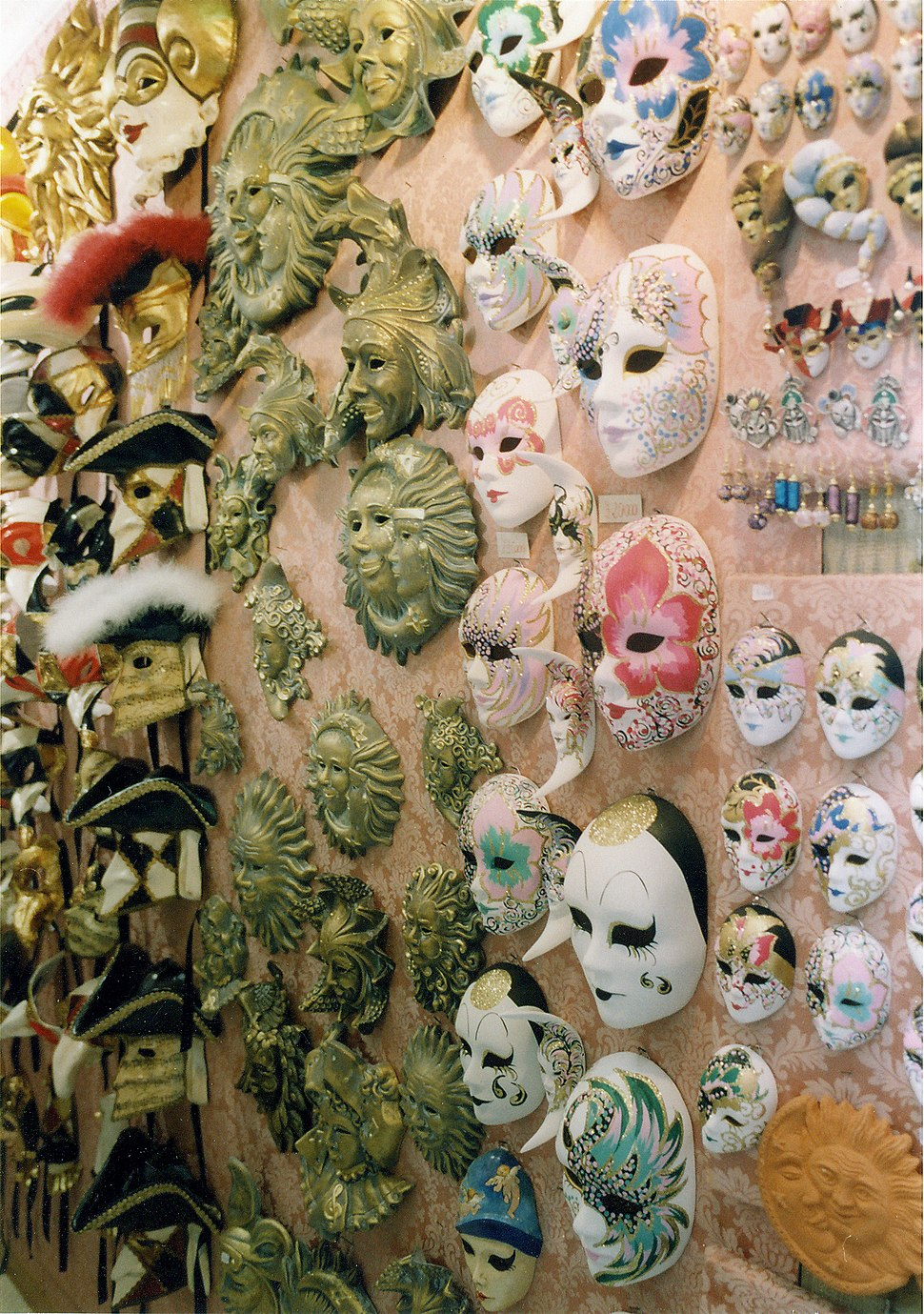 Carnival Masks, late 90's