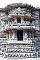 Carvings on the basement Channakeshava temple, Belur(6).jpg