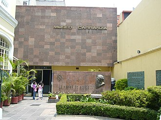 Venustiano Carranza - Museo Carranza, Federal District.