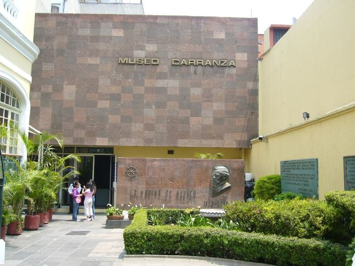Museo Carranza, Federal District. Casa museo venustiano carranza.jpg