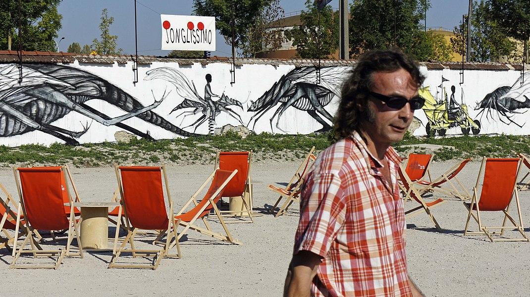 Daniel Casanave au Temps des cerises à Reims.