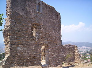 Molins de Rei - Castellciuró Castle.