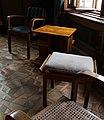 Castello di miramare, appartamento del duca amedeo, 1930-31 ca. 04 sedie e panchetti.jpg