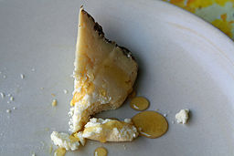 Castelmagno with truffle honey