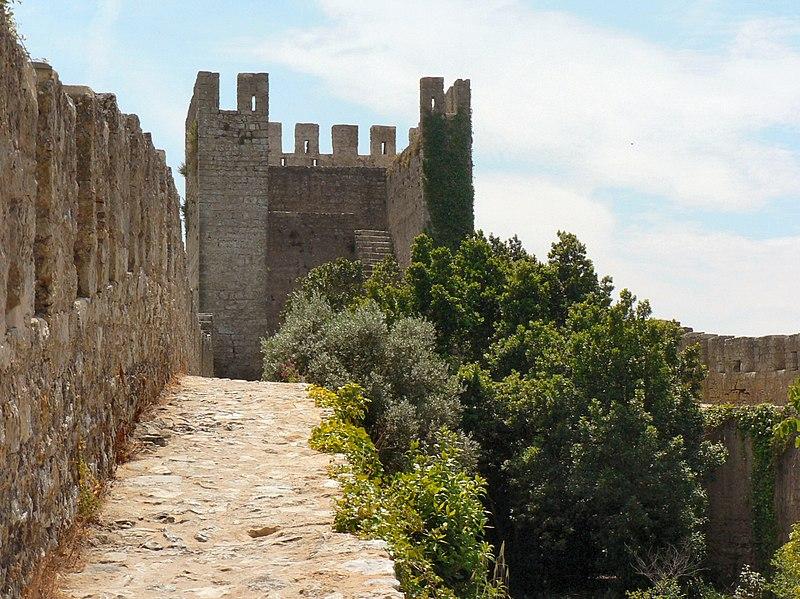 Image:Castelo de Óbidos - Muralha.JPG