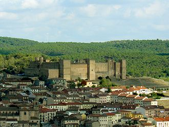 Bernard of Sédirac - This around two-millenniums existent military stronghold, at the Spanish City of Sigüenza was reformed and improved by French born  bishop of Sigüenza Bernard de Sedirac, a.k.a.  Bernard of Agen, (1050 - 1125), Archbishop of Toledo since the conquest of 1086, around the first years of the 1120s. It was for several centuries afterwards the residence of the bishops