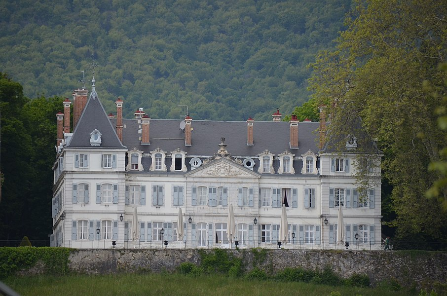 CastleDivonne: now a hotel/restaurant of high standards