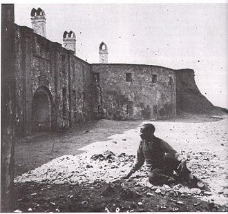 Castle Pinckney - View of Castle Pinckney, 1861