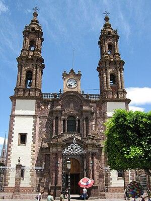 Catedral de Zamora, Michoacán