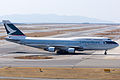 Cathay Pacific Airways ,CX562 ,Boeing 747-412F ,B-HKT ,Arrived from Hong Kong ,Kansai Airport (16667204492).jpg