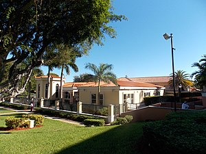 Cathedral of Saint Mary (Miami) - Parish offices and rectory