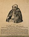 Catherine Warman, died aged 107. Etching, 1755. Wellcome V0007296.jpg