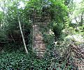 Catrine Estate suspension bridge abutment.JPG