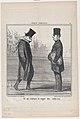 Ce qui explique la voue des cache-nez, from Croquis Parisiens, published in Le Charivari, January 11, 1856 MET DP876531.jpg