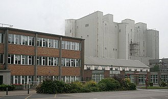 Camille Dreyfus (chemist) - British Celanese acetate factory, Spondon, Derbyshire