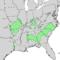 Celtis tenuifolia range map 3.png