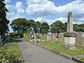 Cemetery path, Whitby - geograph.org.uk - 1457243.jpg