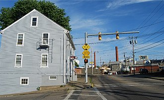 Central Falls, Rhode Island - Image: Central Falls Street