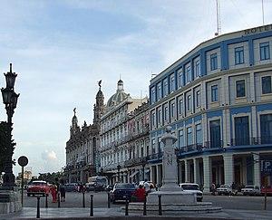 Old Havana - Paseo del Prado, Havana and Hotel Telegrafo