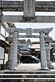 Ceramic torii of Miyaji Dake Hachiman Shrine.jpg