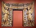 Cerchia di tullio lombardo, mostra di tabernacolo con angeli, 1480-1500 ca.jpg