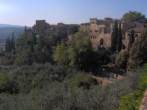 Certaldo, de middeleeuwse bovenstad