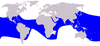 Cetacea range map Pantropical Spotted Dolphin.PNG