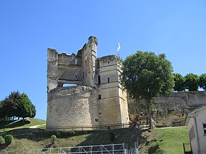 Montguyon - Ruins of the chateau