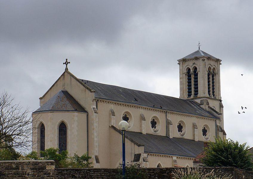 Église Sainte-Marie-Madeleine Chaillé-les-Marais  Vendée, Pays de la Loire.- France