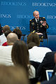 Chairman of the Joint Chiefs of Staff U.S. Army Gen. Martin E. Dempsey hosts a question and answer session after delivering remarks at the Brookings Institution in Washington, D.C., June 27, 2013 130627-D-KC128-063.jpg