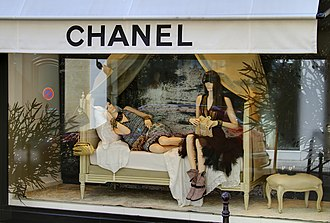 Mannequin - Mannequins in Chanel store, 31 Rue Cambon, Paris